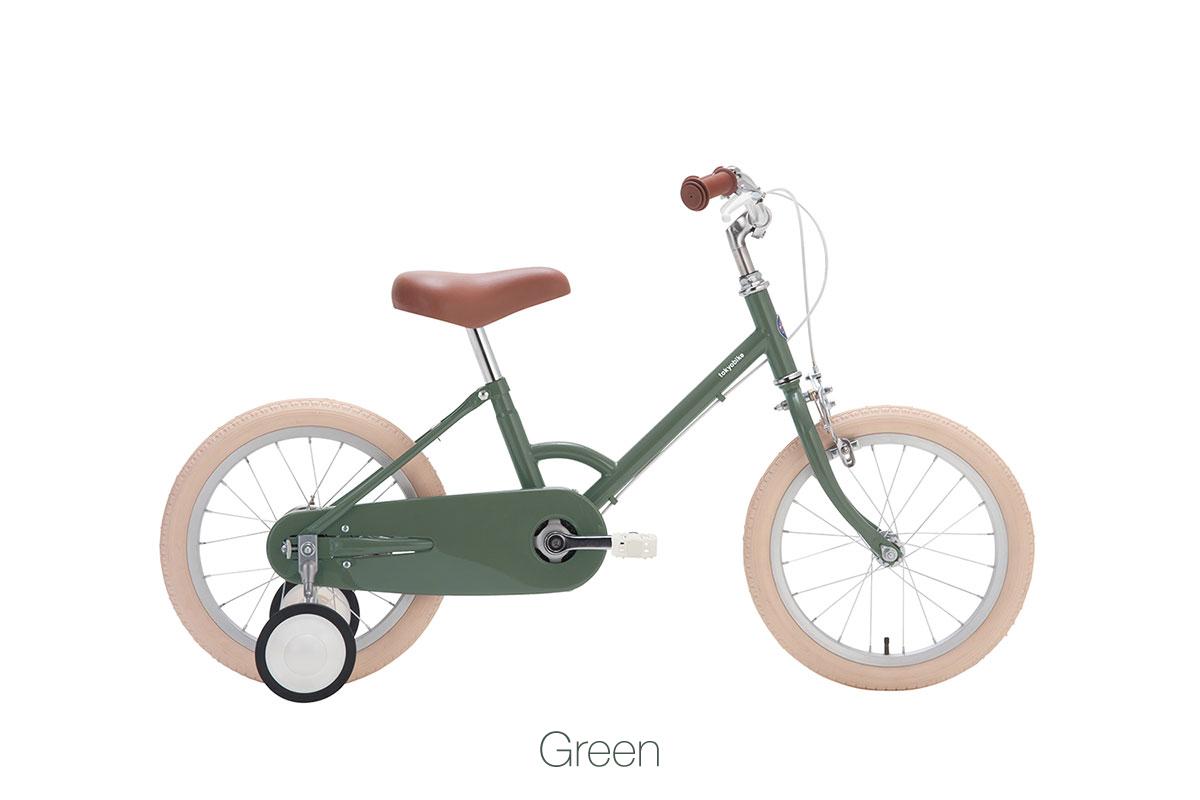 จักรยานเด็ก kid bike little tokyobike สีเขียว green