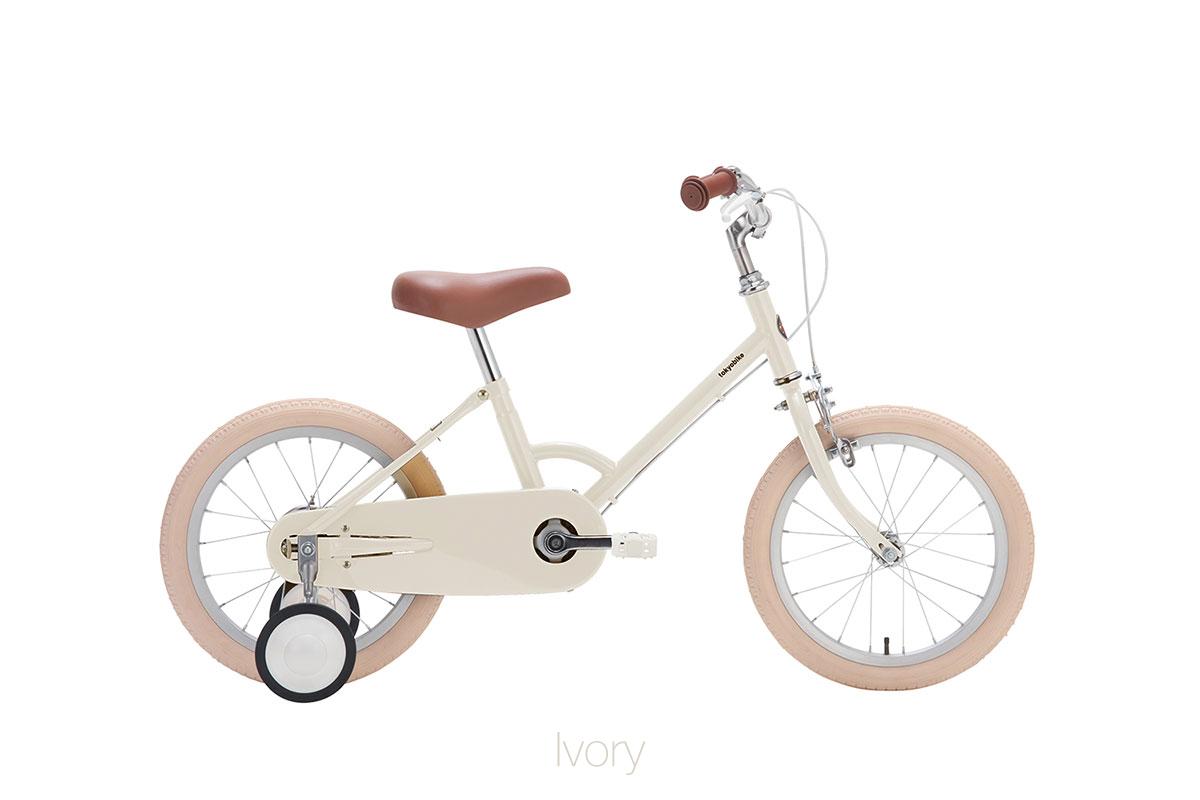 จักรยานเด็ก kid bike little tokyobike สีขาว ivory