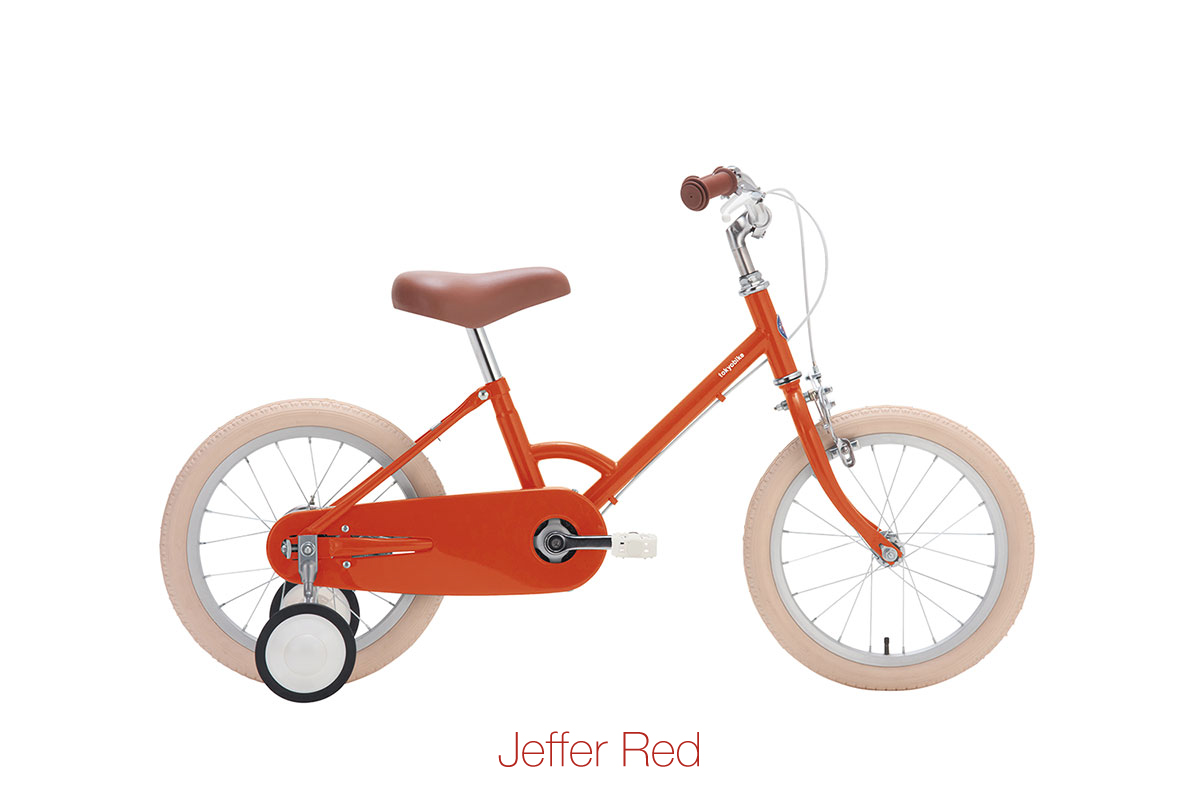 จักรยานเด็ก kid bike little tokyobike สีแดง jeffer red