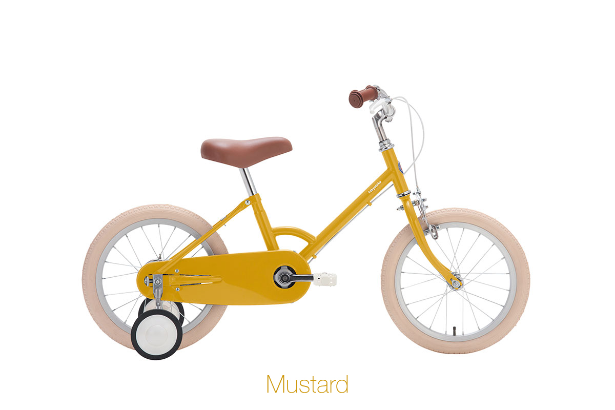 จักรยานเด็ก kid bike little tokyobike สีเหลือง mustard