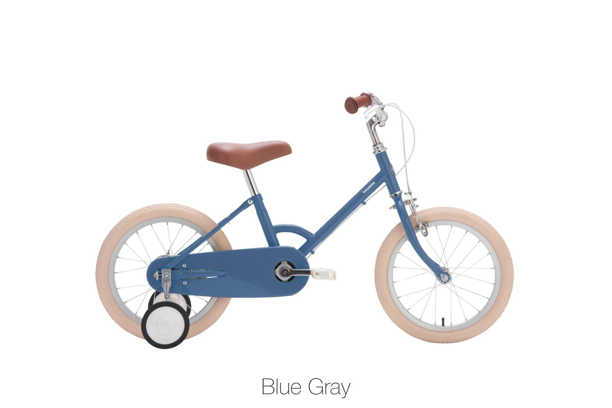 จักรยานเด็ก kid bike little tokyobike สีน้ำเงิน blue gray