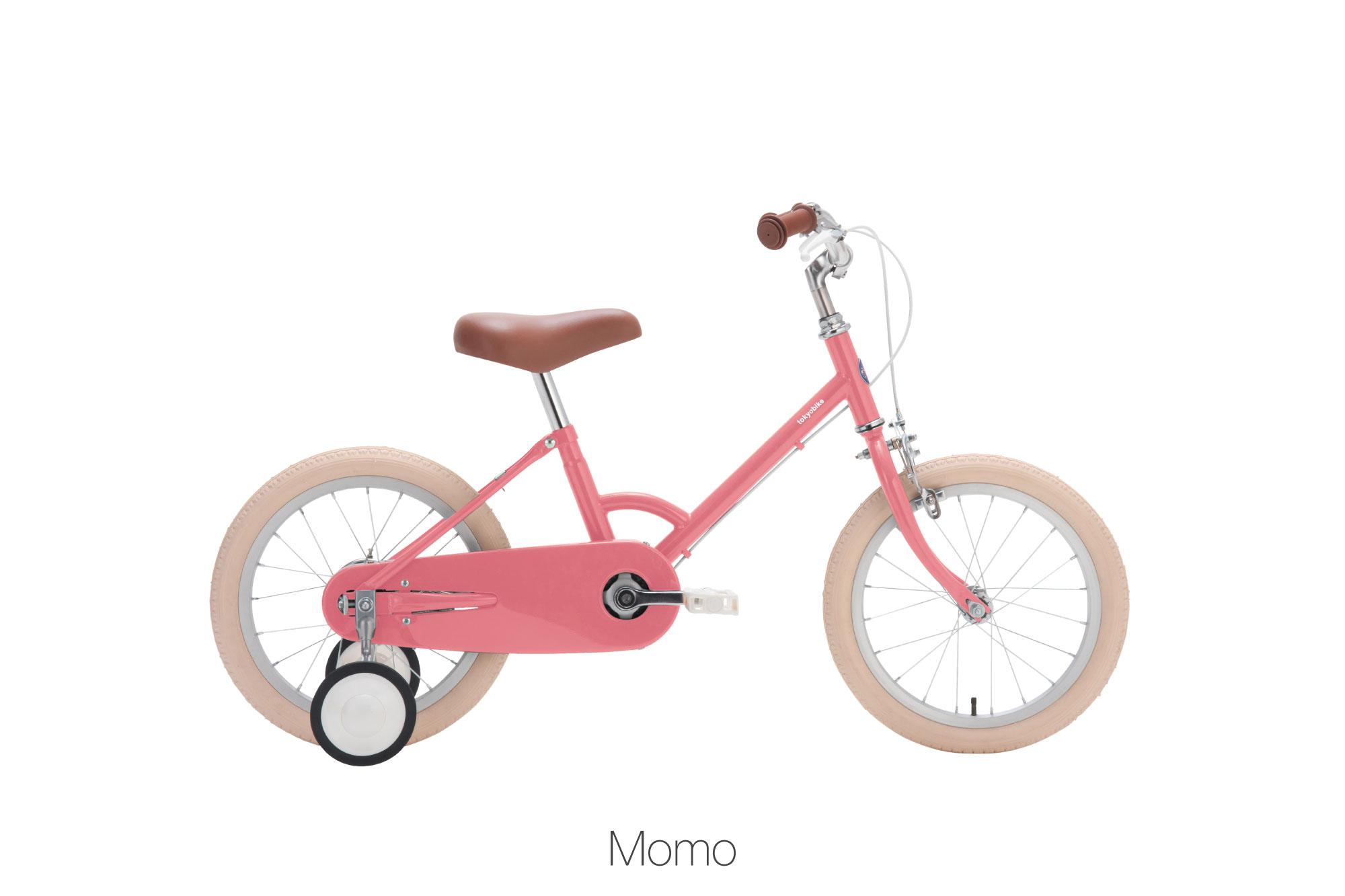 จักรยานเด็ก kid bike little tokyobike สีชมพู momo pink