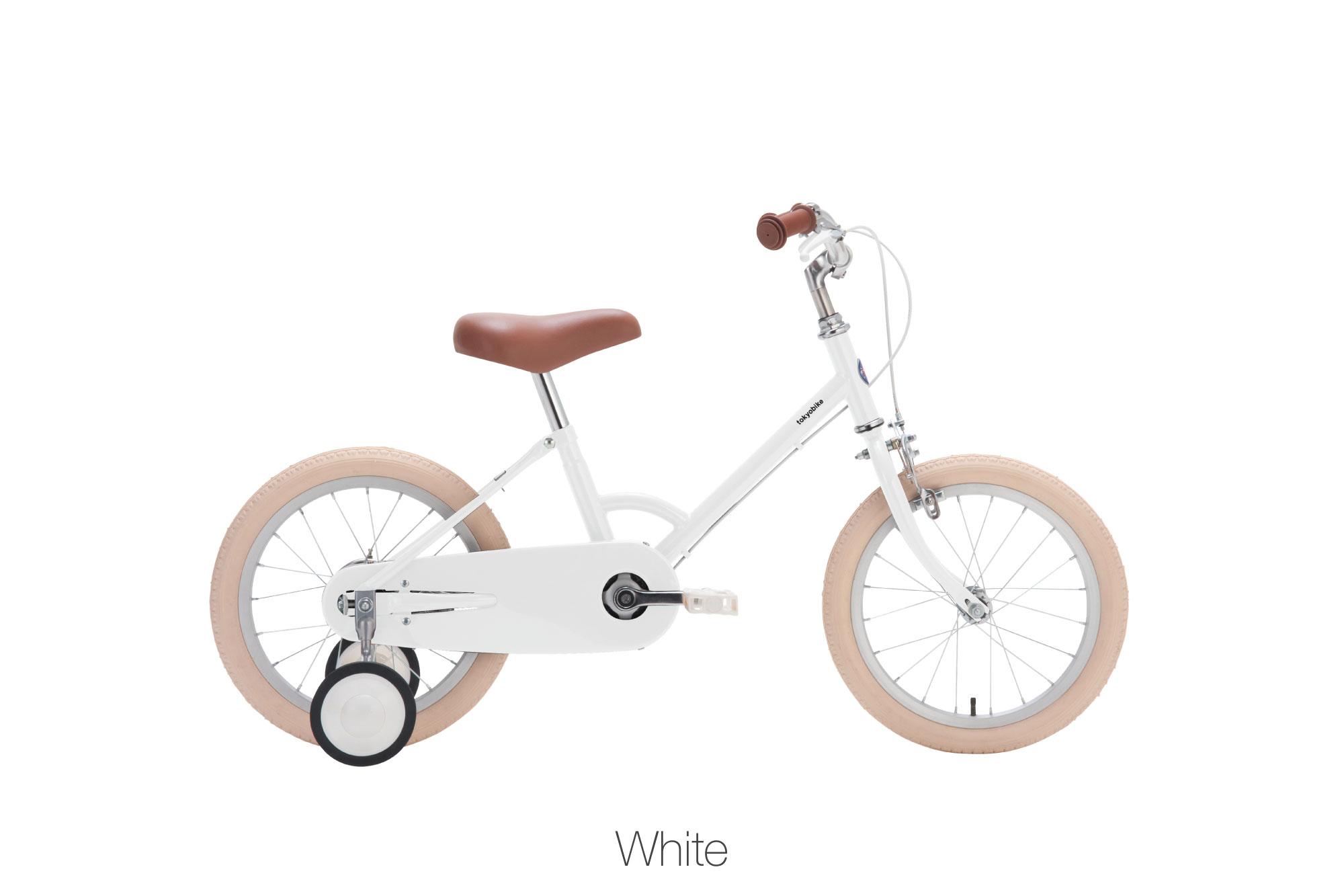 จักรยานเด็ก kid bike little tokyobike สีขาว white