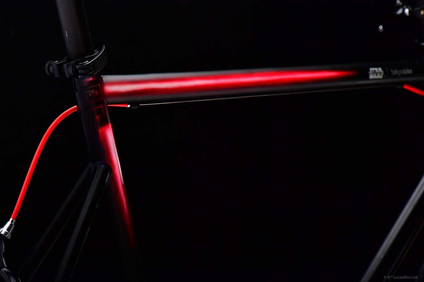 STAR WARS x tokyobike Kylo Ren - Hand painted lightsaber on frame