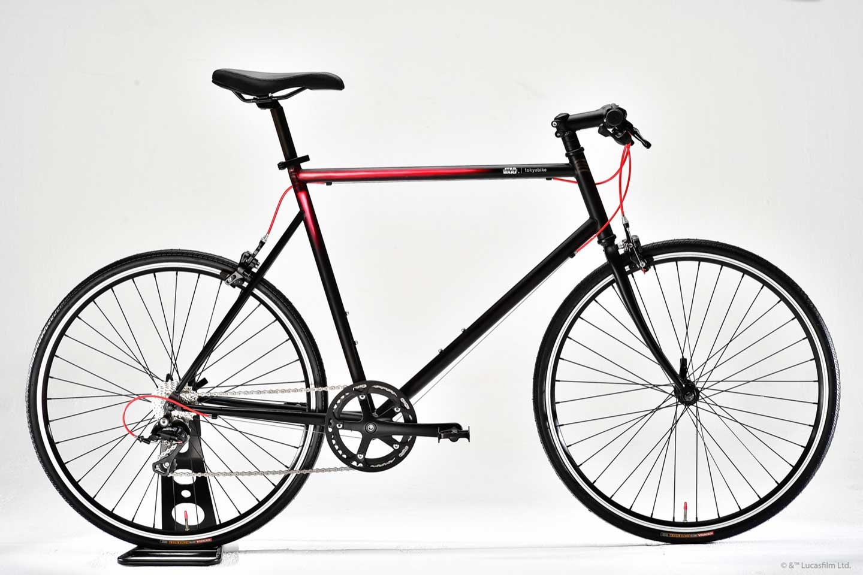 STAR WARS x tokyobike Kylo Ren - full bike white background