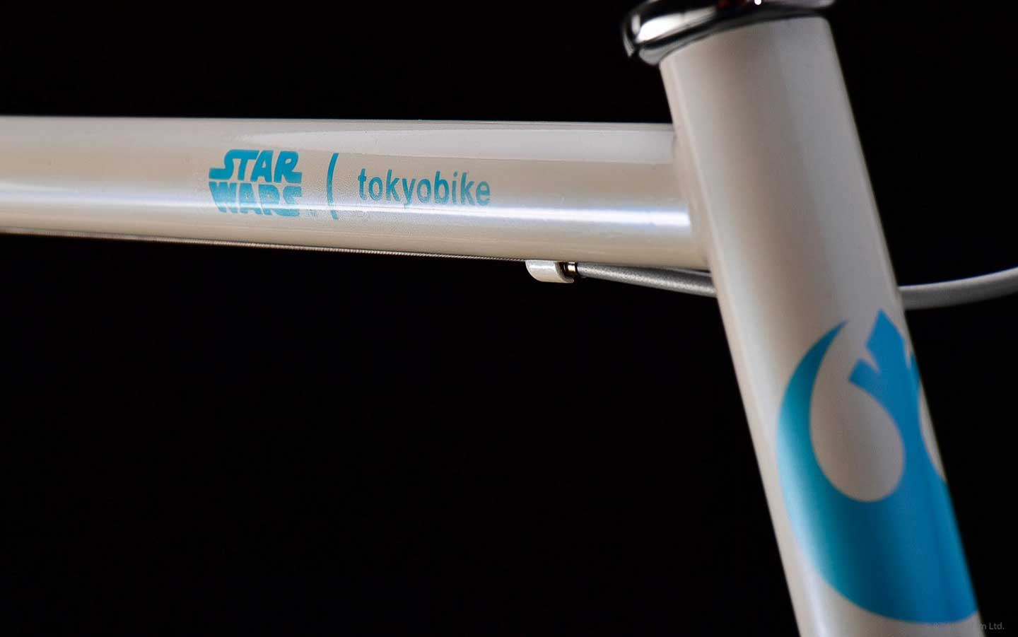 STAR WARS x tokyobike Rey - logo on frame