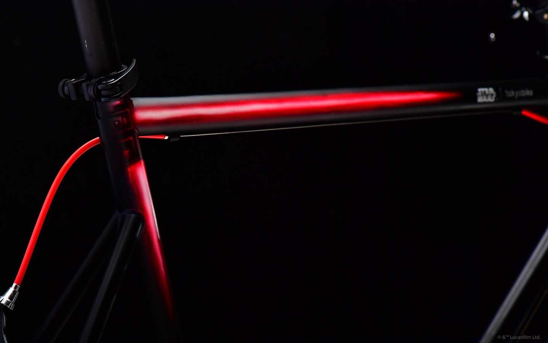 STAR WARS x tokyobike Kylo Ren : Lightsaber on frame