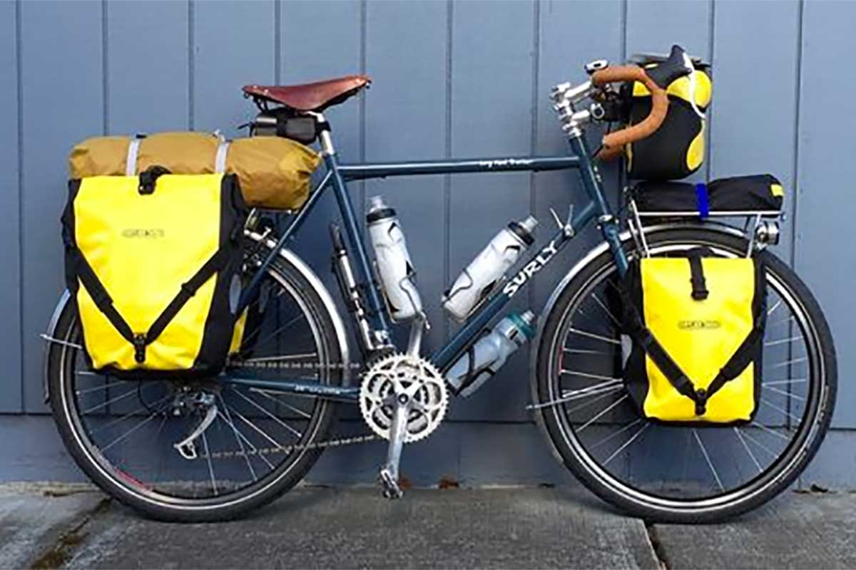 Touring Bikes - Surly long haul trucker - How to pick bicycle type for you
