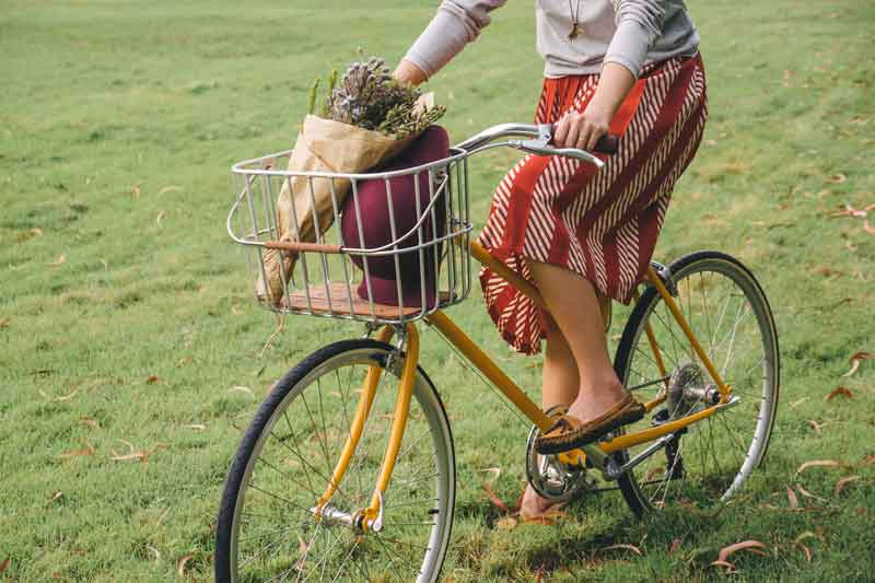 จักรยาน ผู้หญิง จักรยานปั่นสบาย