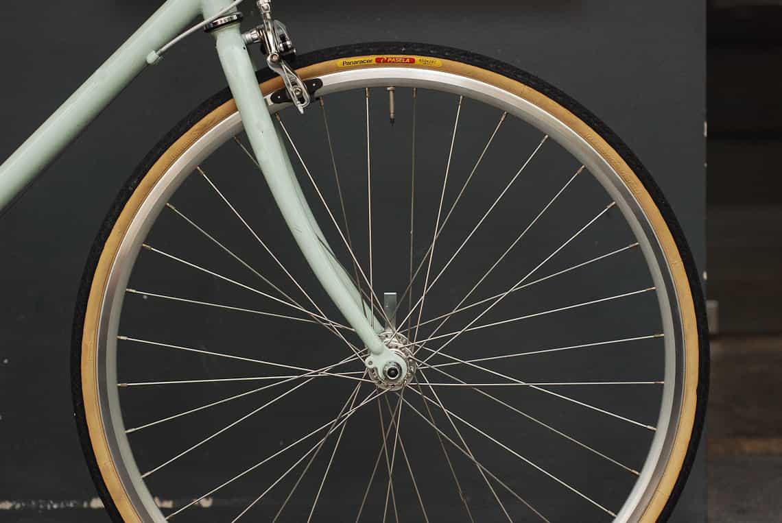 ยางจักรยานใส่ได้พอดีกับ tokyobike CS
