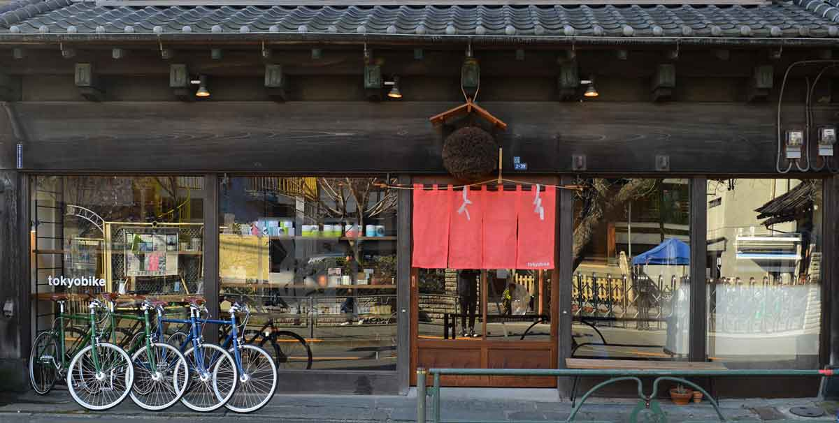 ร้านเช่าจักรยาน โตเกียวไบค์ ยานากะ จักรยานสำหรับเช่าขี่ในโตเกียว