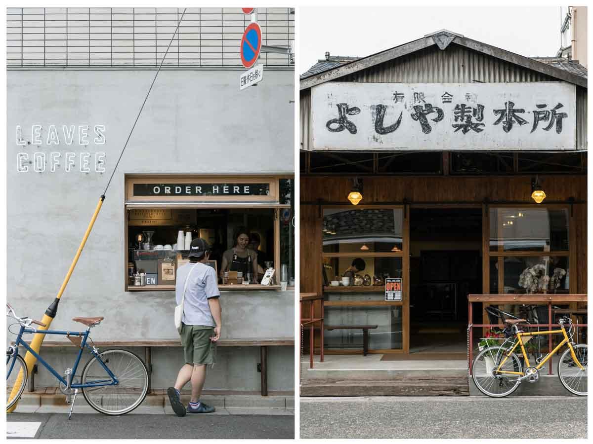 เช่าจักรยาน ขี่เที่ยว ร้านกาแฟ