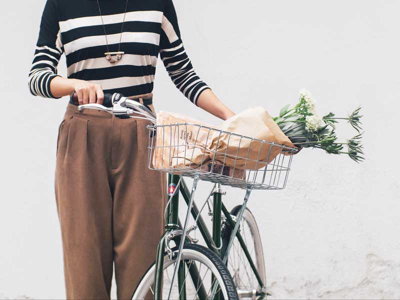 จักรยาน รุ่น tokyobike bisou มีขนาดสำหรับผู้หญิง ตัวเล็ก คานเฉียง ขี่ง่าย ขี่สบาย ติด อุปกรณ์จักรยานได้สวย