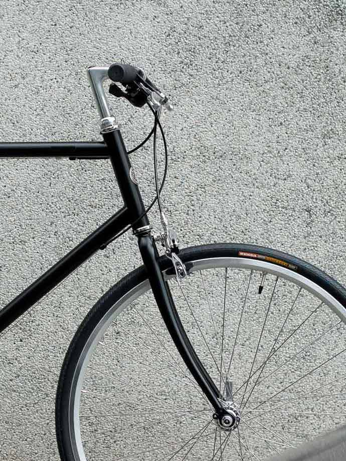 จักรยานรุ่นพิเศษ สีพิเศษดำด้าน เน้นทรงสปอร์ต tokyobike CS Sport Matt Black Limited