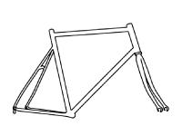 tokyobike 26 frame chromoly
