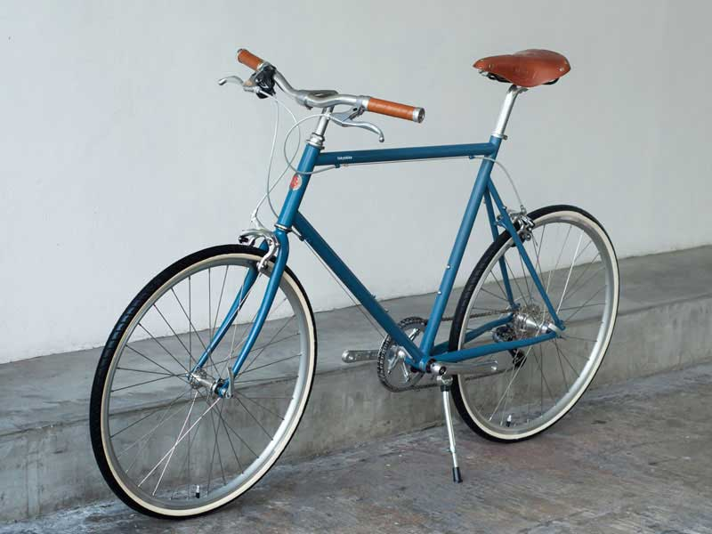 tokyobike 26 bluegrey brooks set