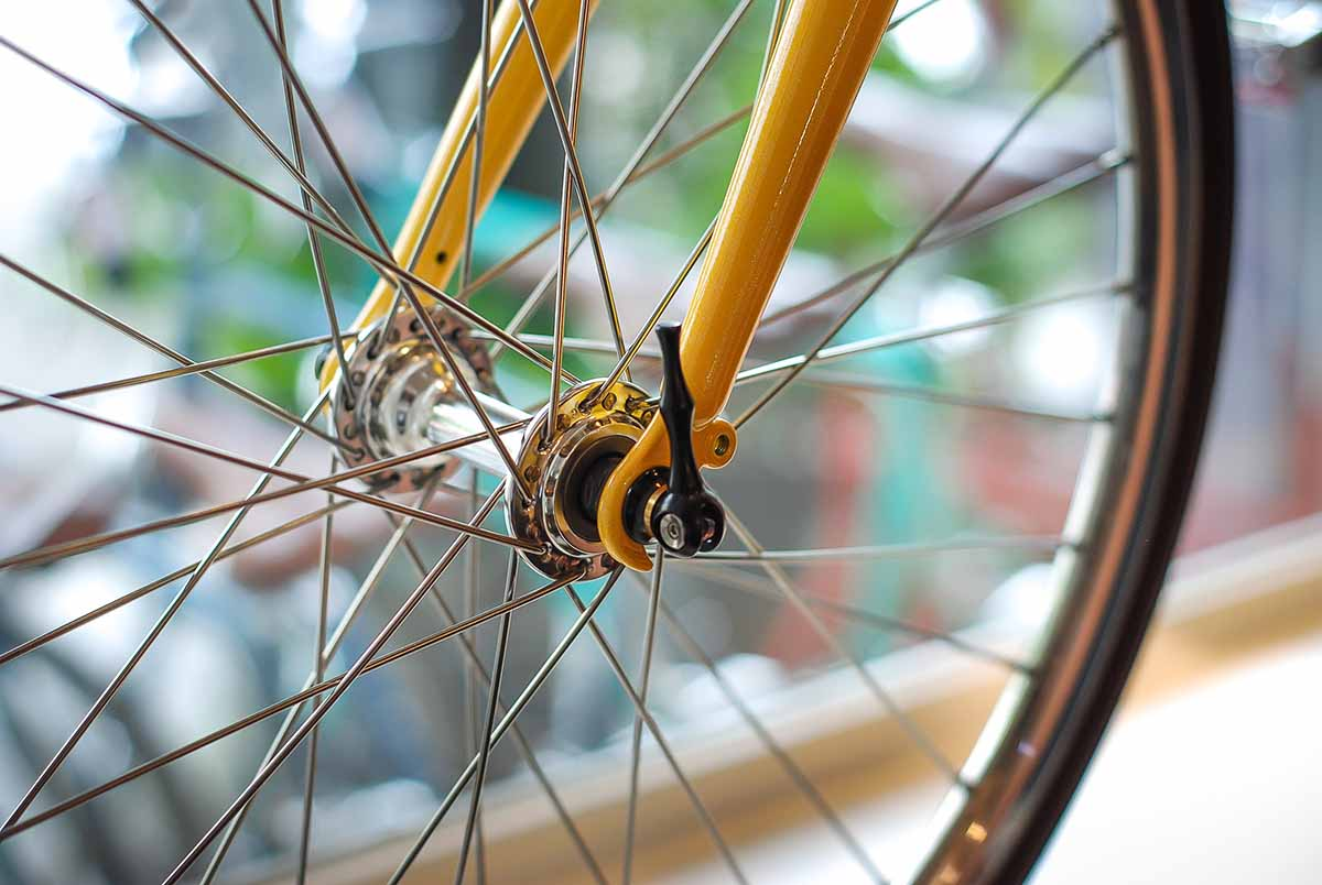 tokyobike plus#20 custom quick release