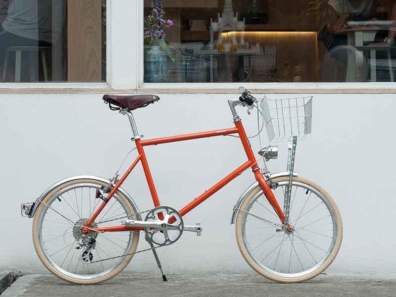 tokyobike plus 20 ตะกร้าหน้า ไฟจักรยาน วินเทจ บังโคลน ชุดเบาะ brooks
