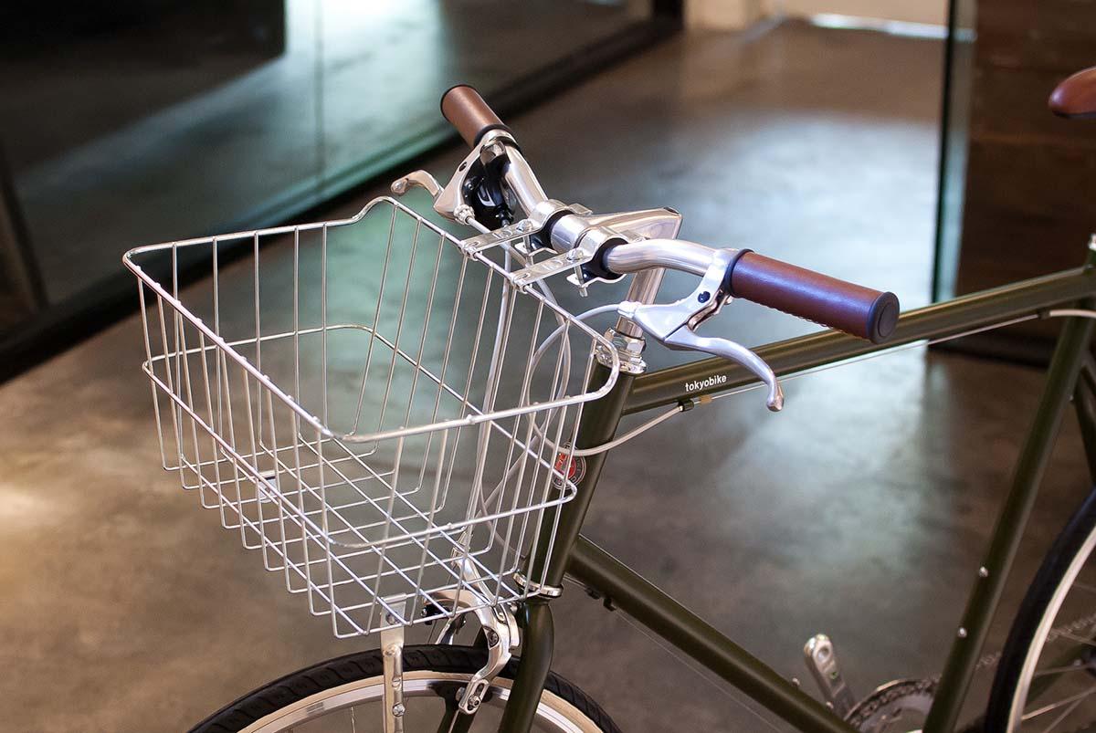 ตะกร้าจักรยาน WALD รุ่น 1521 - bicycle basket WALD 1521 silver