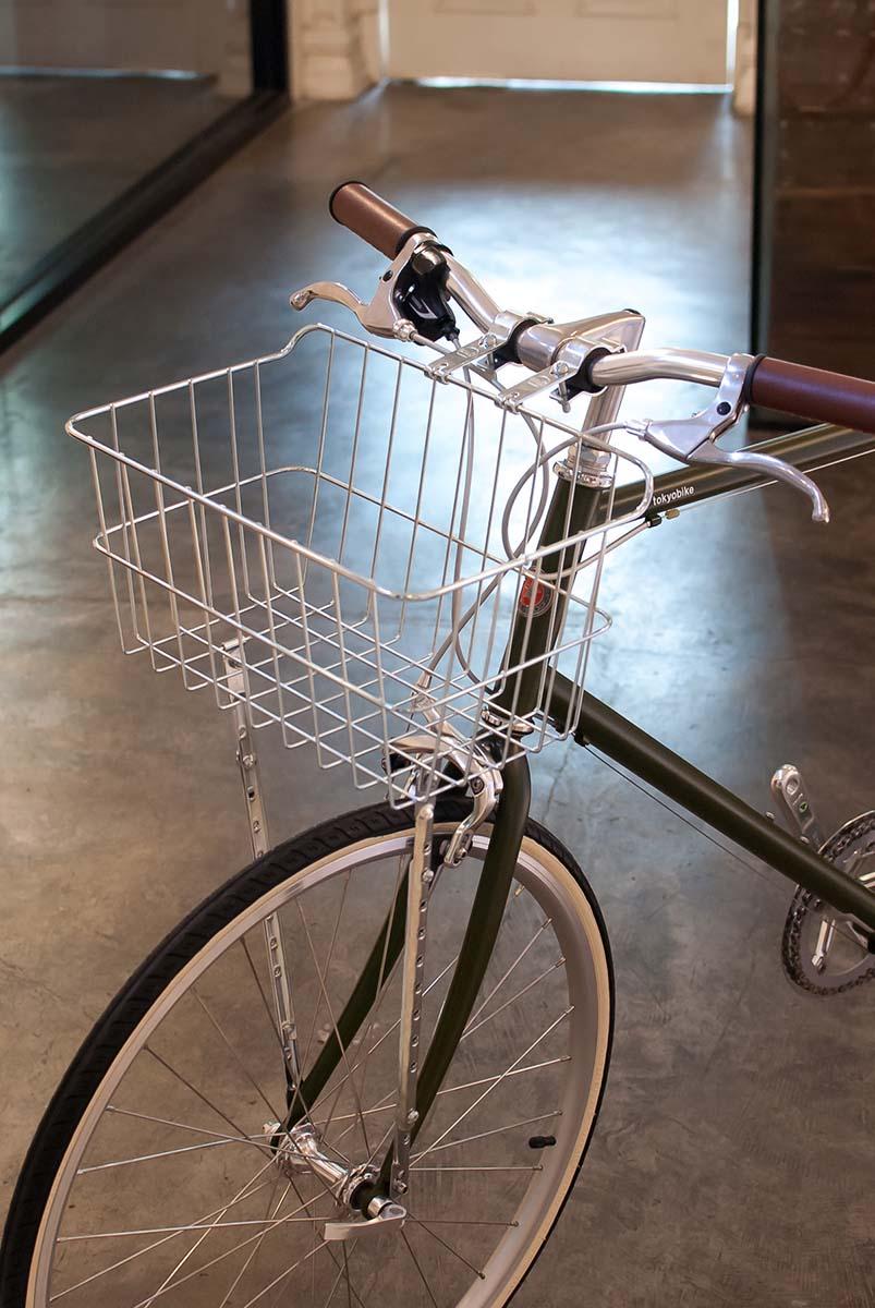 ตะกร้าจักรยาน WALD รุ่น 1521 - bicycle basket WALD 1521 front hub