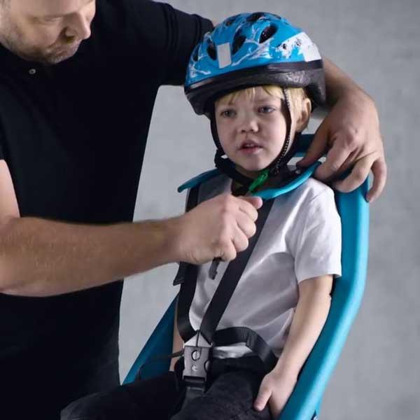 ที่นั่งเด็กติดจักรยาน Yepp Maxi EasyFit - สำหรับเด็กน้ำหนัก 9 กิโล ถึง 22 กิโล