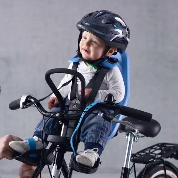ที่นั่งเด็กติดจักรยาน Yepp สำหรับอายุ 9 เดือน ถึง 3 ขวบ